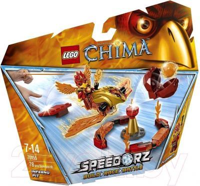Конструктор Lego Chima Испытание огнем (70155) - упаковка