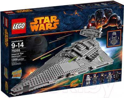 Конструктор Lego Star Wars Имперский Звёздный Разрушитель (75055) - упаковка