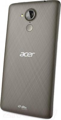 Смартфон Acer Liquid Z500 (черный) - вид сзади