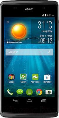 Смартфон Acer Liquid Z500 (черный) - общий вид