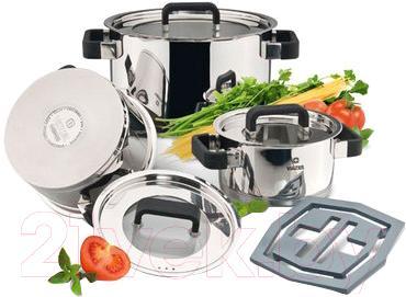Набор кухонной посуды Vinzer 89045 - общий вид
