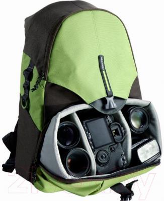Рюкзак для фотоаппарата Vanguard BIIN 59 (зеленый) - внутренний вид