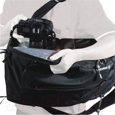 Рюкзак для фотоаппарата Vanguard Kinray Lite 48BK (черный) - система быстрого доступа