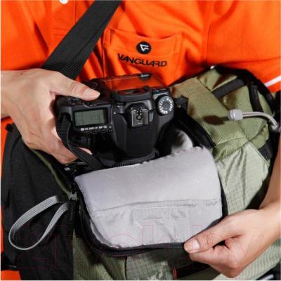 Рюкзак для фотоаппарата Vanguard Kinray Lite 48GR (зеленый) - система быстрого доступа