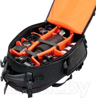 Рюкзак для фотоаппарата Vanguard Skyborne 53 - внутренниий вид