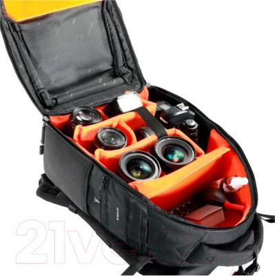 Рюкзак для фотоаппарата Vanguard UP-Rise II 45 (Black) - внутренний вид