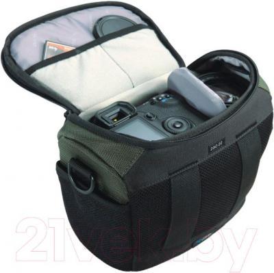 Сумка для фотоаппарата Vanguard 2GO 22GR (серый) - внутренний вид