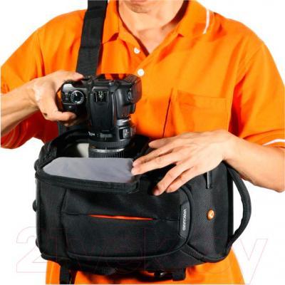 Сумка для фотоаппарата Vanguard 2GO 32 (Black) - система быстрого доступа