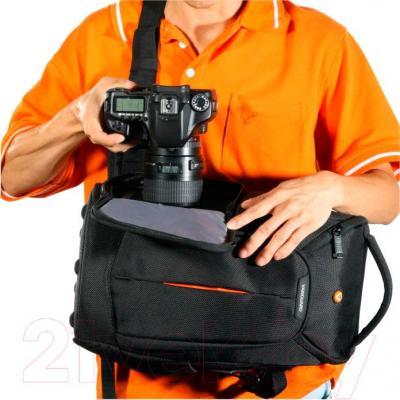 Сумка для фотоаппарата Vanguard 2GO 39 (черный) - система быстрого доступа