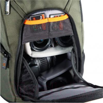 Сумка для фотоаппарата Vanguard 2GO 39GR (зеленый) - внутренний вид