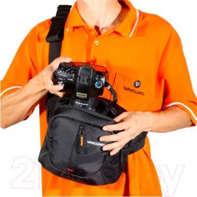 Сумка для фотоаппарата Vanguard Kinray Lite 15B BK (черный) - система быстрого доступа