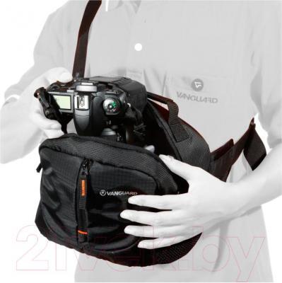 Сумка для фотоаппарата Vanguard Kinray Lite 22B (черный) - быстрый доступ к фотоапарату