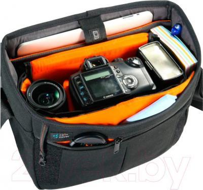 Сумка для фотоаппарата Vanguard Vojo 25 (черный) - внутренний вид