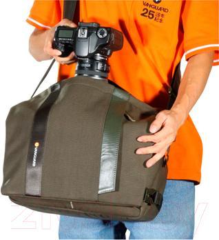 Сумка для фотоаппарата Vanguard Vojo 28BK - удобство использования