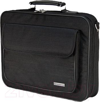 Сумка для ноутбука Continent CC-03 (черный) - общий вид