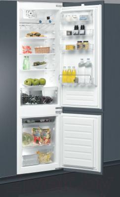Холодильник с морозильником Whirlpool ART 9610/A+ - демонстрация встраивания