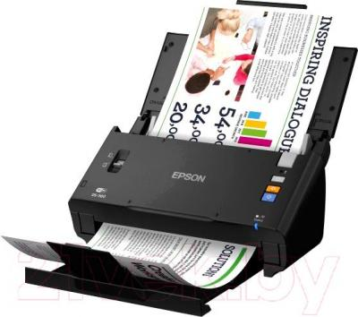 Протяжный сканер Epson WorkForce DS-560 - общий вид