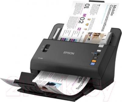 Протяжный сканер Epson WorkForce DS-860N - общий вид