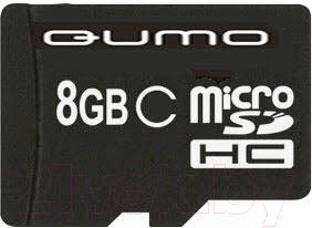 Карта памяти Qumo microSDHC 8Gb Yin Yang (QM8GMICSD-Y&Y) - общий вид