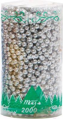 Бусы для ёлки Mag 2000 030439 (Silver) - общий вид