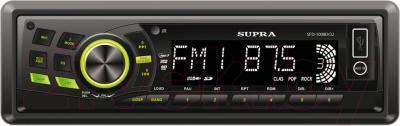 Бездисковая автомагнитола Supra SFD-1008DCU - общий вид