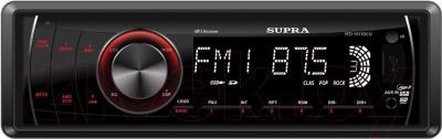 Бездисковая автомагнитола Supra SFD-1011DCU - общий вид