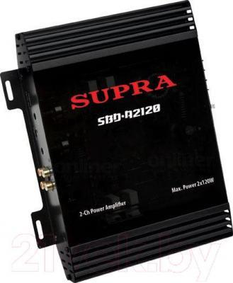 Автомобильный усилитель Supra SBD-A2120 - общий вид