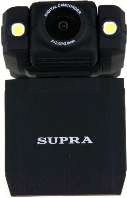 Автомобильный видеорегистратор Supra SCR-680 - фронтальный вид
