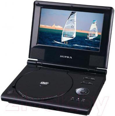 Портативный DVD-плеер Supra SDTV-715U - общий вид