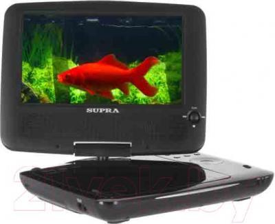Портативный DVD-плеер Supra SDTV-722UT (белый) - общий вид