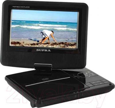 Портативный DVD-плеер Supra SDTV-725U (Black) - общий вид