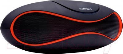 Портативная колонка Supra BTS-553 (Red) - общий вид