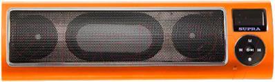 Портативная колонка Supra PAS-6255 (Orange) - общий вид