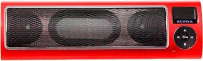 Портативная колонка Supra PAS-6255 (Red) - общий вид