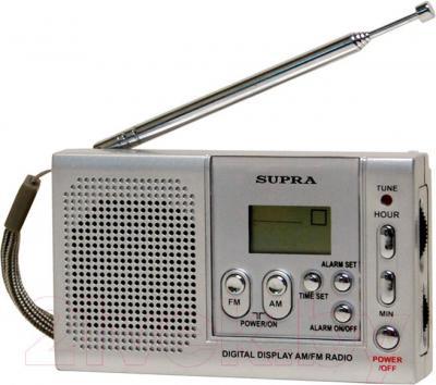 Радиоприемник Supra ST-115 (Silver) - общий вид