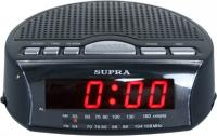 Радиочасы Supra SA-26FM (черно-красный) -