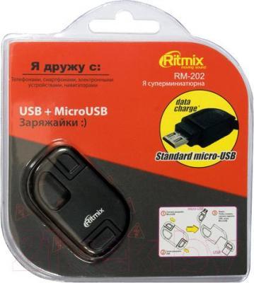 Кабель USB Ritmix RM-202 NP - упаковка