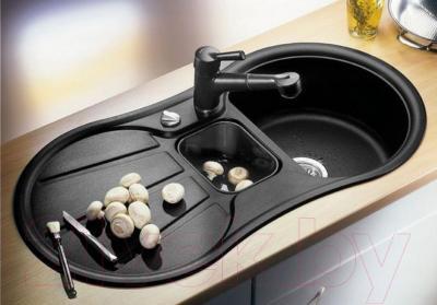 Мойка кухонная Blanco Cron 6 S / 512002 - установленная