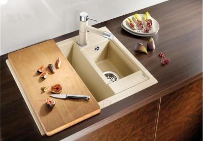 Мойка кухонная Blanco Metra 6 (516160) - с разделочной доской