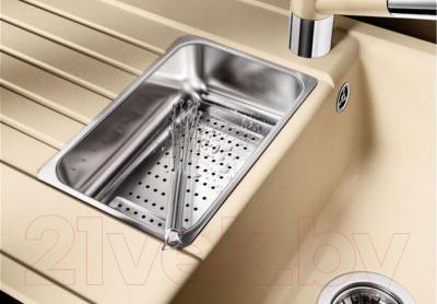 Мойка кухонная Blanco Zia 6 S (514745) - коландер