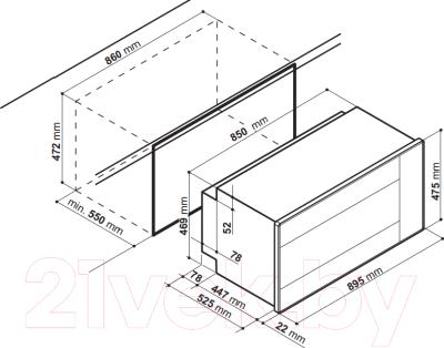 Электрический духовой шкаф Hotpoint MH 99.1 IX /HA S