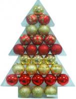 Набор ёлочных шаров Mag 2000 030408 (27 шт) -