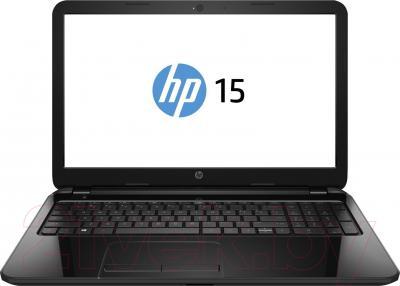 Ноутбук HP 15-r049er (J1W86EA) - фронтальный вид
