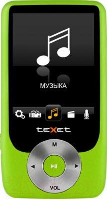 MP3-плеер TeXet T-79 (8Gb, Green) - общий вид