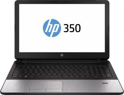 Ноутбук HP 350 (J4U33EA) - фронтальный вид