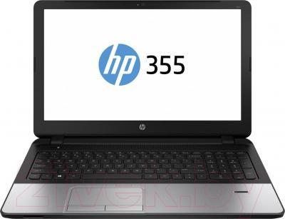 Ноутбук HP 355 (J4T00EA) - фронтальный вид