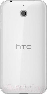 Смартфон HTC Desire 510 (белый) - вид сзади