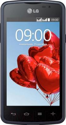 Смартфон LG L50 Dual (D221) (Black) - общий вид