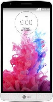 Смартфон LG G3 Stylus Dual / D690 (черно-белый) - общий вид
