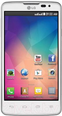 Смартфон LG L60 Dual / X145 (белый) - общий вид